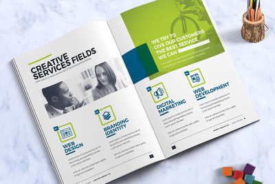 Design eye-catching flyer, brochure, banner, leaflet, poster