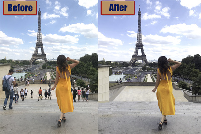 Remove/Add ANYTHING to a photo using Photoshop