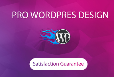 Create professional and responsive wordpress website design