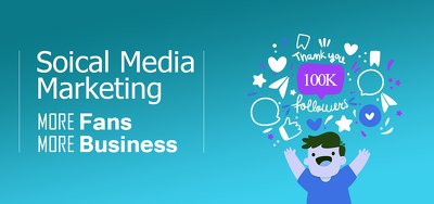 Promote your business with social media marketing for 1 week