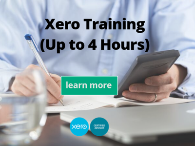 Train you how to use Xero up to a maximum of 4 hours