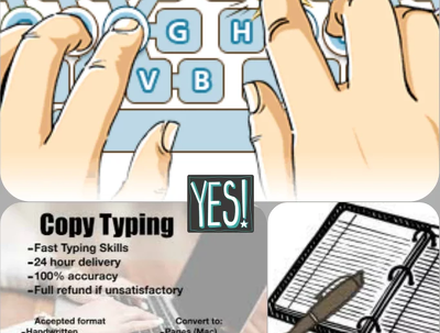 Copy type Your PDF manually on Ms Word