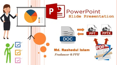 Create your Slide Presentation by Power-Point (Max 10 slides)
