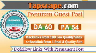 Guest Post On Google News Approved Site Tapscape||Tapscape.com