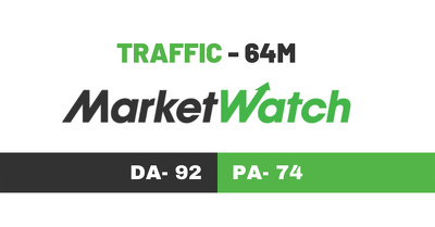 Write & publish guest Post on Marketwatch DA 92 Dofollow link