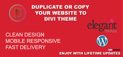 Customize responsive WordPress website using Divi theme