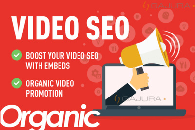 Do YouTube Video Organic Social and Embeds Promotion with SEO
