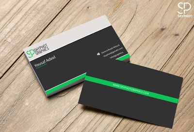 Design eye catching 2 Sided business card