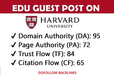 Guest post on my harvard edu university blog (harvard.edu) ,DA95