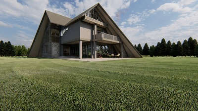 Create realistic exterior architectural renderings