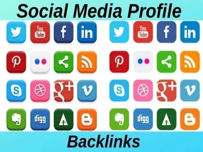 Do 100 HQ profile creation backlinks for you