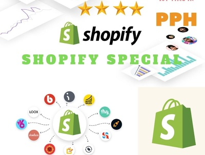 Do Smashing Shopify Store -Promotion-Marketing -Management-SEO-
