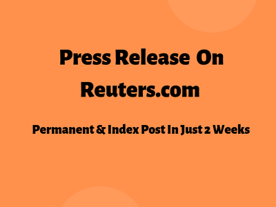 Do guest post on Reuters (PR)