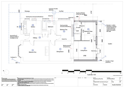 Create Building Control Drawings