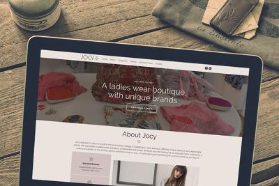 Design one-page WordPress website