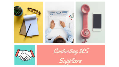 Help you find and contact five US wholesale suppliers