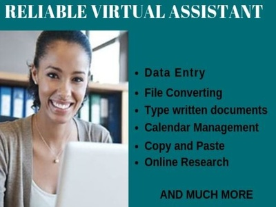 Be your Virtual Assistant for $10 for a hour.