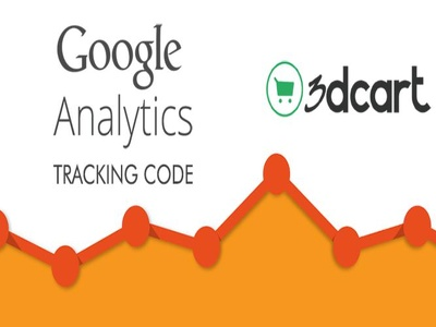 Install  3dcart Google Analytics Tracking code