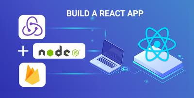 Develop reactjs one page web application