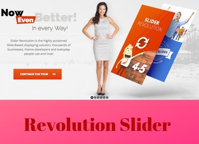 Create Revolution Slider And Fix