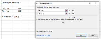 Create a customised Excel function in 1 day