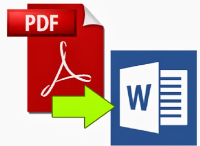 Text A4 Size PDF/JPEG to doc Word File