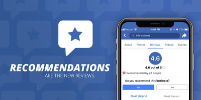 Promote your Facebook page and provide 10 Recommendation