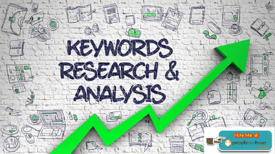 Do keyword research with competitor analysis