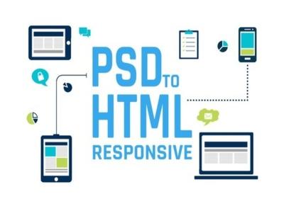 Convert PSD to Responsive HTML / Wordpress / Mailchimp