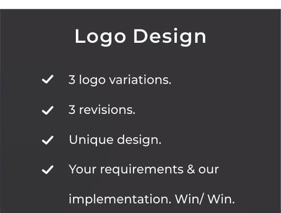 Design a Bespoke Logo For your Business/Brand
