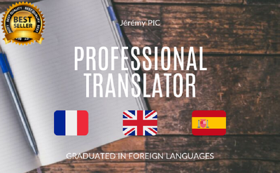 Provide excellent english french translation
