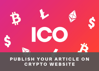 Publish Your Article On Crypto Websites