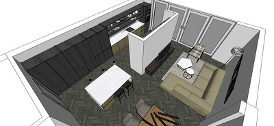 Create 2D plans and elevations of kitchens/ joinery/ bathroom