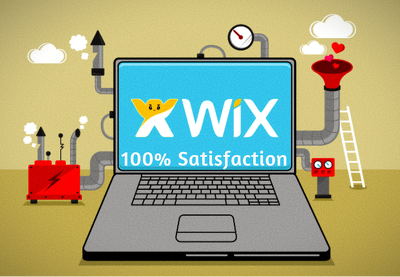 Design or redesign your wix website upto 5 Pages