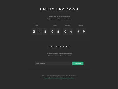 Create A Responsive Countdown For Your Events