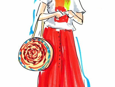 Create a fashion illustration for you