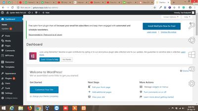 Create  your complete wordpress website