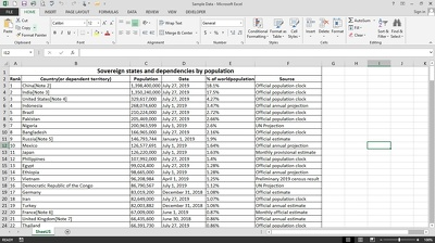 Convert 30 PDF pages in to Excel Sheet