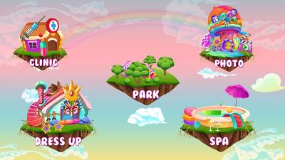 Design game art graphics 2D