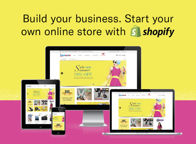 Create a Shopify Store - All you need to get selling