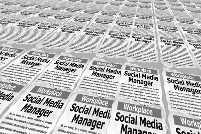 Manage Social Media page/account
