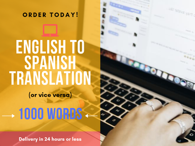 Translate 1000 words in English to Spanish and vice versa