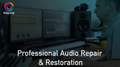 Fix, clean, repair and restore your audio