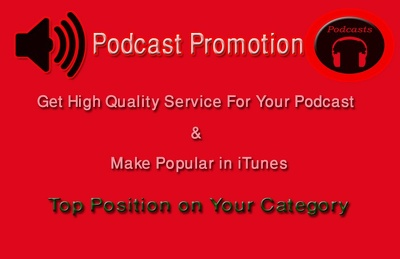 Great Service For iTunes Podcast Promotion