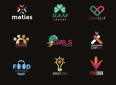 Design a bespoke logo + unlimited revisions + vector files