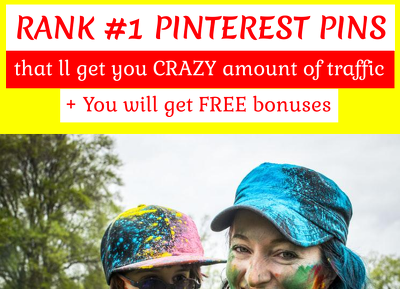 Create pinterest pins that will get you crazy amount of traffic