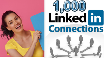 Do LinkedIn Marketing & Grow Targeted 500 connections with Bonus