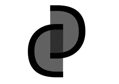 Create a black and white logo