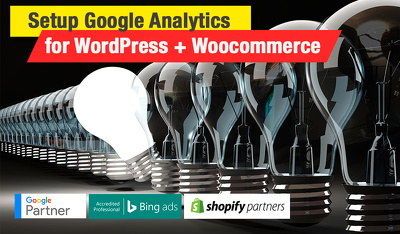 Google Analytics tracking for WordPress + Woocommerce store