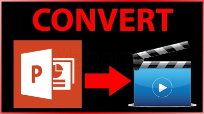 Convert PowerPoint Ppt To High Quality Video Mp4